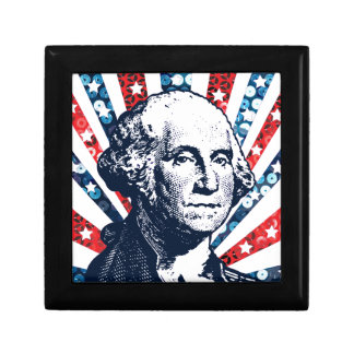 sequin george washington gift box