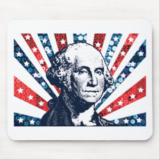 sequin george washington mouse pad
