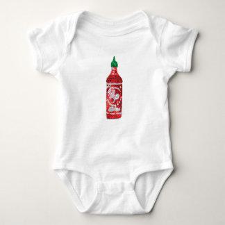 sequin hot sauce baby bodysuit