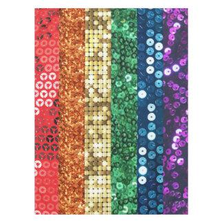 sequin pride flag tablecloth table cloth