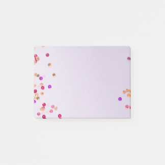 Sequins and Sparkles light purple Post-it Notes