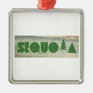 Sequoia Metal Ornament