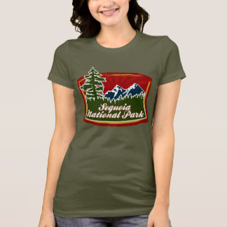 Sequoia Mountain Tree Logo T-Shirt