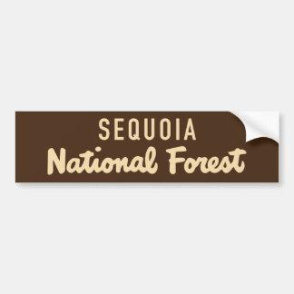 Sequoia National Forest Bumper Sticker