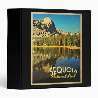 Sequoia National Park California 3 Ring Binder
