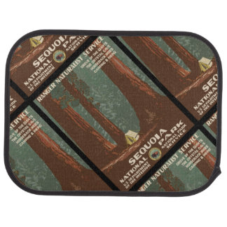 Sequoia National Park Car Mat