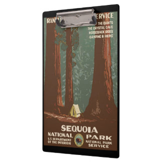 Sequoia National Park Clipboard