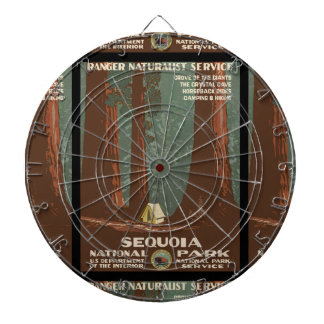 Sequoia National Park Dartboard