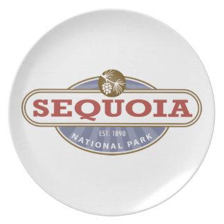 Sequoia National Park Dinner Plates