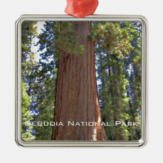 Sequoia National Park Metal Ornament