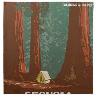 Sequoia National Park Napkin