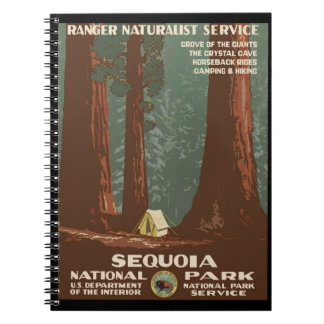 Sequoia National Park Notebooks