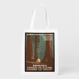 Sequoia National Park Reusable Grocery Bag