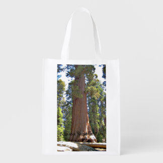 Sequoia National Park Reusable Grocery Bag