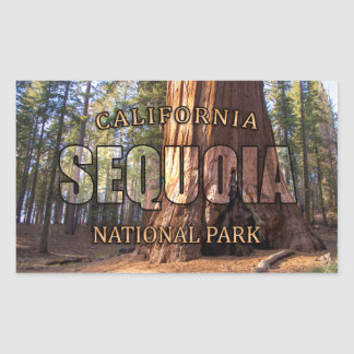 Sequoia National Park Sticker
