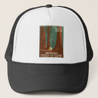 Sequoia National Park Trucker Hat
