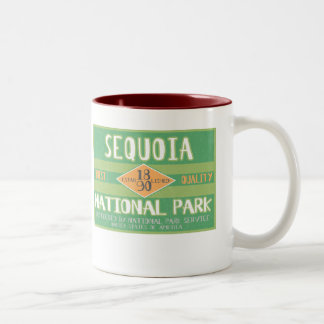 Sequoia National Park Two-Tone Coffee Mug