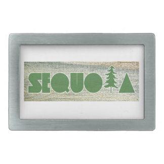 Sequoia Rectangular Belt Buckle
