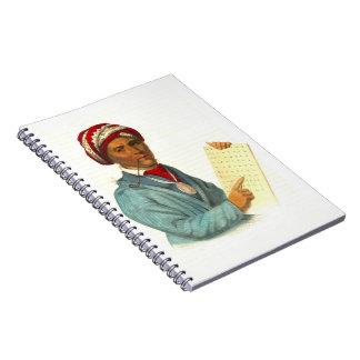 Sequoyah 1838 notebook