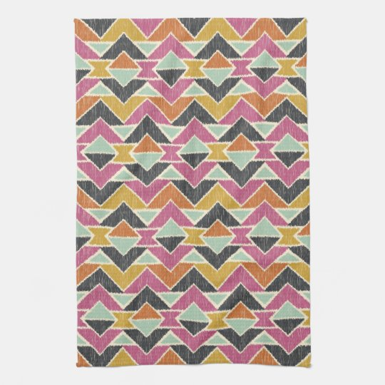 Sequoyah Arrows Ikat Hand Towels
