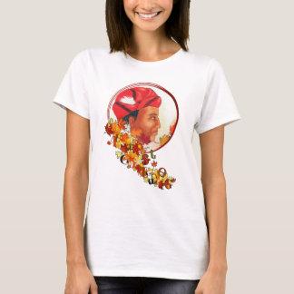 "Sequoyah & the Cherokee Syllabary ""Talking Leaves"" T-Shirt"