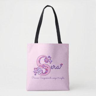 Sera name and meaning monogram bag