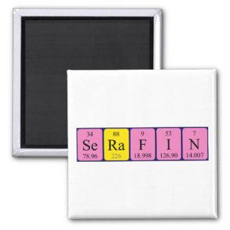 Serafin periodic table name magnet
