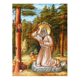 Seraphim of Sarov Postcard