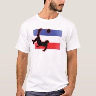 Serbia and Montenegro Bicycle Kick T-Shirt
