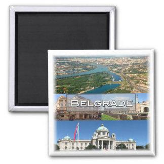 Serbia * Belgrade Magnet