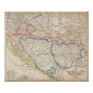 Serbia, Bosnia Print