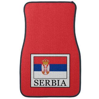 Serbia Car Mat