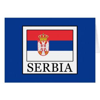 Serbia Card