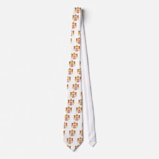 Serbia coat of arma tie