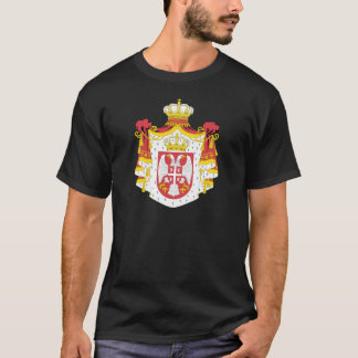 Serbia Coat of Arms detail T-Shirt