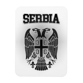 Serbia Coat of Arms Magnet