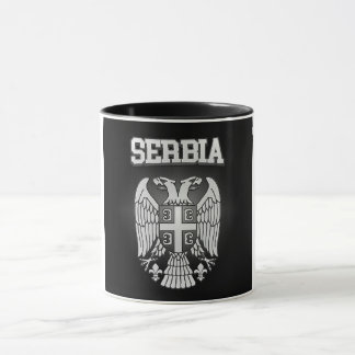 Serbia Coat of Arms Mug