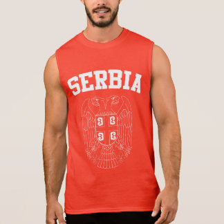 Serbia Coat of Arms Sleeveless Shirt