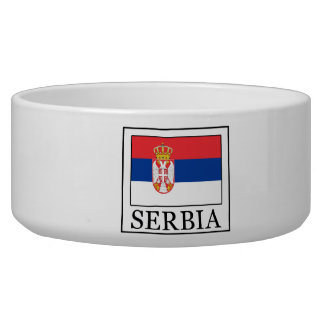 Serbia Dog Food Bowl