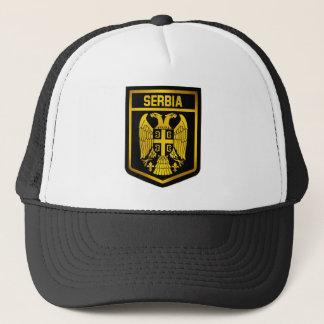 Serbia Emblem Trucker Hat
