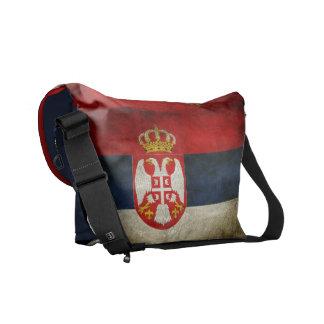Serbia Flag Courier Bag