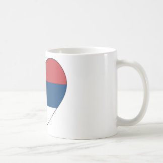 Serbia Flag Simple Coffee Mug