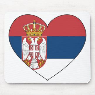 Serbia Flag Simple Mouse Pad