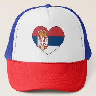 Serbia Flag Simple Trucker Hat
