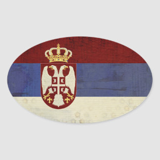 Serbia Flag Stickers