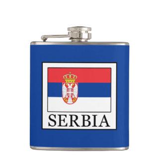 Serbia Hip Flask