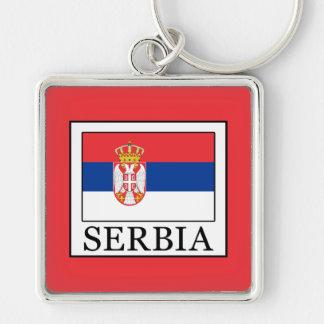 Serbia Keychain