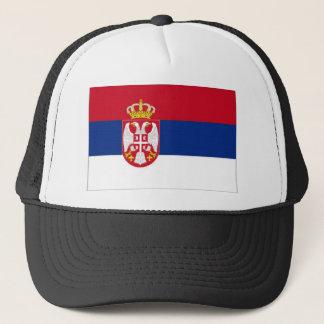 Serbia National Flag Trucker Hat