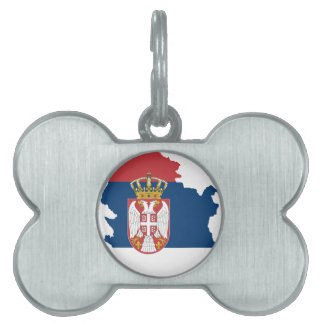 serbia pet name tag