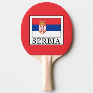 Serbia Ping Pong Paddle